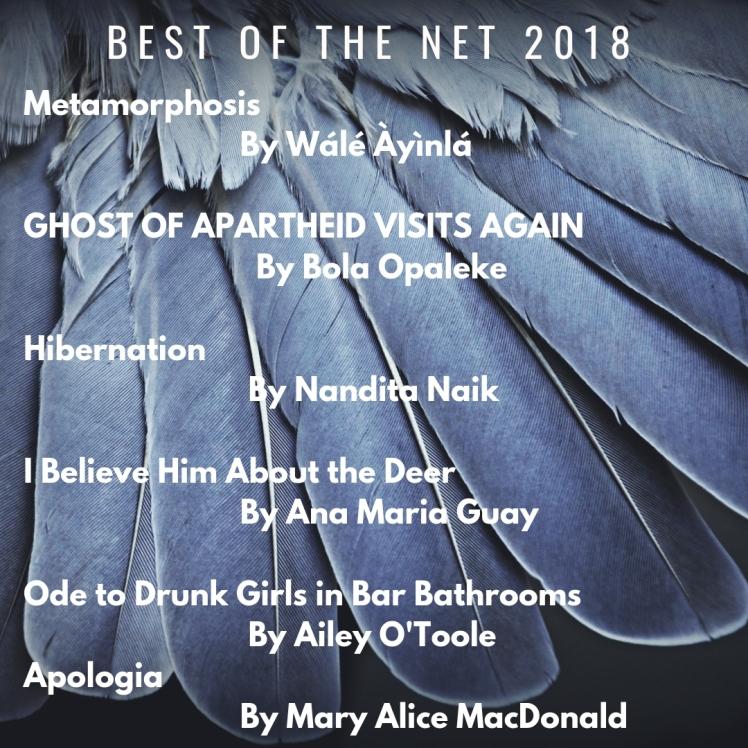 Best of the net 2018